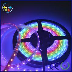 12V Waterproof Led Light Strips Interesting Dmx 512 Sk 6812 Smd 5050 Rgb Led Strip Light Blister Flexible Decorating Inspiration