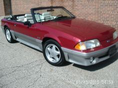 Auction car model: Mustang GT 1991 Car model Ford mustang convertible 5.0 5 speed 74 k orig miles Check more at http://auctioncars.online/product/auction-car-model-mustang-gt-1991-car-model-ford-mustang-convertible-5-0-5-speed-74-k-orig-miles/