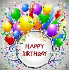 Bd Free Happy Birthday Cards, Wish You Happy Birthday, Funny Happy Birthday Wishes, Happy Birthday Celebration, Happy Birthday Pictures, Happy Birthday Balloons, Happy Birthday Greetings, Funny Birthday, Birthday Quotes
