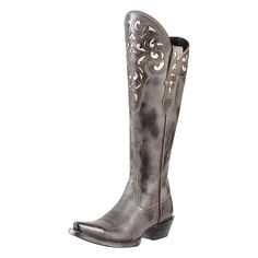 Ladies/' Tall Black and White Boot by Capelta New Aurora Eskimo-Style