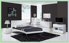 Grey and White Modern Bedroom Modern Luxury Bedroom Design In Grey and White Concept with Modern Luxury Bedroom, Luxury Bedroom Furniture, Luxury Bedroom Design, Contemporary Bedroom, Modern Room, Luxurious Bedrooms, Modern Bedrooms, Modern Contemporary, Bedroom Couch