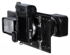The RhinoCam makes any Sony NEX camera turn into a medium format beast without the expense of a traditional back.