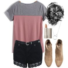 """""""Allison Inspired Summer College Outfit"""" by veterization on Polyvore"""
