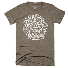 My wife's favorite Charles Dickens quote screen printed on an awesome American Apparel Tri Blend shirt.