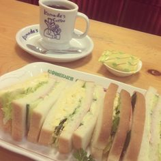 [2014/09/12]    またコメダにきちったぁー♩    みっくちゅしゃんどぉー◌̥ ·͜⋆*˖      @コメダ珈琲店 池袋西口店