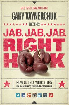Jab, Jab, Jab, Right Hook: How to Tell Your Story in a Noisy, Social World, A Book About Social Media Management by Gary Vaynerchuk