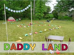 Celebrate Every Day With Me: Daddy Land, A Father's Day Game