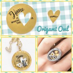 Origami Owl is a leading custom jewelry company known for telling stories through our signature Living Lockets, personalized charms, and other products. Origami Owl Lockets, Origami Owl Jewelry, Origami Charms, Oragami, Origami Butterfly Instructions, Origami Easy Step By Step, Origami Owl Business, Owl Ring, Owl Family