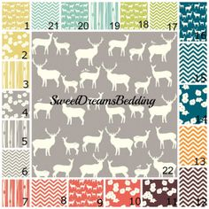 ORGANIC Custom Crib Bedding You Design   by SweetDreamsBedding, $345.00