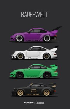 flat6ix: petrolified: RWB Prints Now Available! Get yours now in the store - https://www.etsy.com/shop/PetrolifiedFor more automotive good...