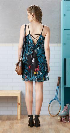 Só na Antix Store você encontra Vestido Ginástica com Barra com exclusividade na internet