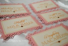 CANDY BUFFET TAGS baby shower candy tags bar by designstoimpress, $20.00