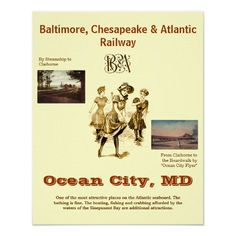 Alot of people have no idea a train went to Ocean City