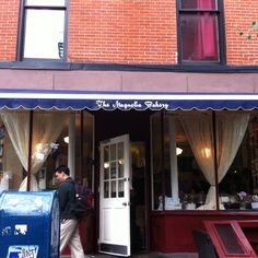Magnolia's Bakery in Bleeker St, Soho