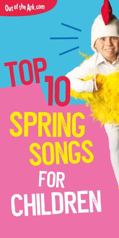 Sing your way into spring with our top ten spring songs for children, ideal for the classroom or your next spring assembly.