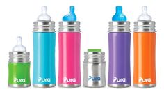 LC Pals - Pura Kiki® Stainless Steel Bottle, $13.99 (http://www.lcpals.com/pura-kiki-stainless-steel-bottle/)