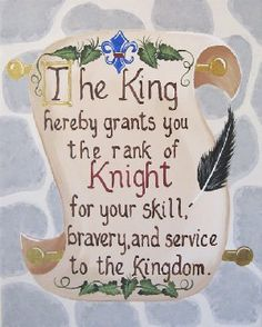 knight and princess bedroom | Knight Scroll Giclee Wall Art - The Frog and the Princess