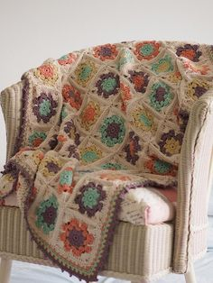The Florear Banket is an abundance of flowers to lay over your baby to keep her warm. This is the softest baby blanket I have made. The yarn is smooth and gives a lovely texture. The design is based on the classic granny-square but with some extra patterning to produce the flowers.The pattern is written in UK crochet terms and includes a US stitch terminology conversion chart.Suggested yarn is The Cotton Wool by www.weareknitters.co.uk which is an aran weight yarn in 100% cotton. Yarn…