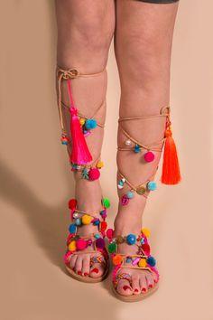 Tie up Gladiator Sandals '' UTOPIA '' Greek by SandalsofLove