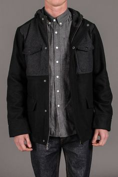 Browning Two Tone Wool Jacket