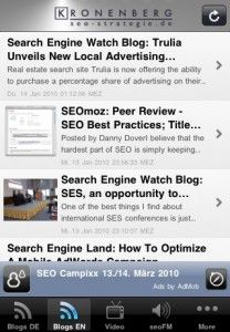 SEO Apps for the iPhone and iPad