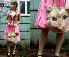 Can't hug every cat :( (by Lily Karin) http://lookbook.nu/look/4722065-Can-t-hug-every-cat
