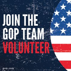 Voting has already started in some states. The election is here, but there's still work to be done. Join #teamgop & help defeat Democrats this fall!