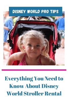 Disney World Stroller Rental! We found the best prices and Most Convenient options. We take a look if you should bring your own stroller and rent one of Disney's strollers on your next vacation. #Disney #Disney World Disney On A Budget, Disney World Vacation Planning, Disney World Hotels, Disney Vacation Club, Walt Disney World Vacations, Disney Resorts, Disney Planning, Trip Planning, Disney World Tips And Tricks