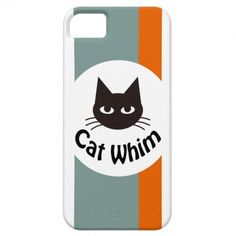 Cat Whim iPhone 5 Cover.  $39.95