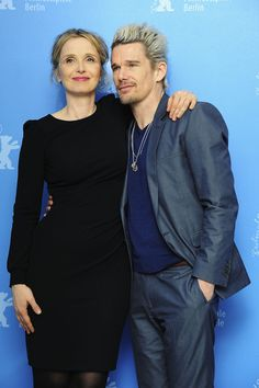 Ethan Hawke and Julie Delpy  Before Sunrise Sunset Midnight