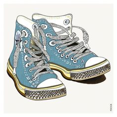 What To Look For In A New Pair Of Shoes. Or, is shopping for mens shoes something you try to stay away from? Shoe Sites, Sneaker Art, How To Make Shoes, Shoe Art, Buy Shoes, Converse All Star, Chuck Taylor Sneakers, Athletic Shoes, Shoe Boots