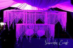 Crystal Chandelier Wedding Decor