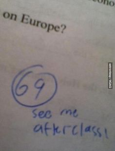 Got my test back and..