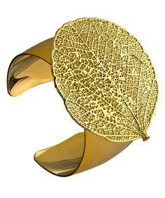 large & lovely! Nugaard Designs Round Leaf Cuff