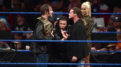 The Miz says he invited Dean Ambrose and Dolph Ziggler to his show to talk, not…