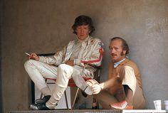 Jochen Rindt & Colin Chapman