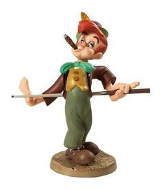 DISNEY WDCC : 4004513 PINOCCHIO - Lampwick: Screwball in the Corner Pocket | eBay