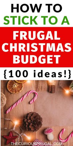 Looking for inexpensive Christmas family fun? Here are 100 frugal Christmas ideas that are free or practically free. This will help make sure our traditions for Christmas DON'T include overspending.