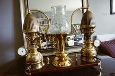 Antique Vintage Lamp Light Machine Age Steampunk Collectibles Home Decor | eBay