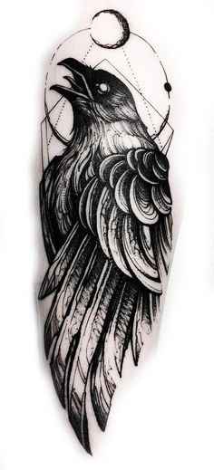 Tattoo designs ideas inspiration tatoo 24 Ideas for 2019 Band Tattoos, Ribbon Tattoos, New Tattoos, Body Art Tattoos, Tattoos For Guys, Tatoos, Crow Tattoo For Men, Black Crow Tattoos, Bracelet Tattoos