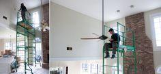 DIY Ducklings | Family Room Prep & Paint