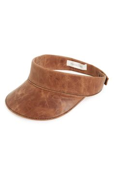 Free shipping and returns on Treasure&Bond Leather Visor at Nordstrom.com…