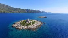 Private island, a lighthouse with a pool, a jet ski, a private butler and even a boat with a skipper ready to whisk you over the Adriatic Sea Beautiful Forest, Beautiful Gardens, Game Of Thrones Locations, Croatian Islands, Floating Hotel, Luxury Tents, Villa, Adriatic Sea, Dubrovnik