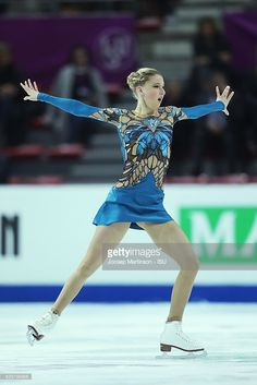 News Photo : Maria Sotskova of Russia competes during Senior...