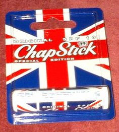 ChapStick Special Edition Union Jack design Original SPF 10