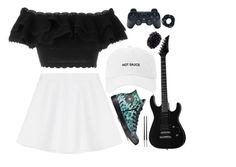 """""""Everything has changed"""" by maddysleepy ❤ liked on Polyvore featuring Alexander McQueen, RED Valentino, Converse and Christofle"""