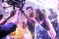 Arjun Kapoor and Sonakshi Sinha seen posing for a selfie for a shot in the song from Tevar. #Bollywood #Fashion #Style #Beauty