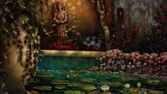 Secret Garden Painting by Mia Pratt Collector Review Garden Painting, Art Oil, Oil Paintings, The Collector, Fine Art, The Originals, Artist, Artists, Oil On Canvas