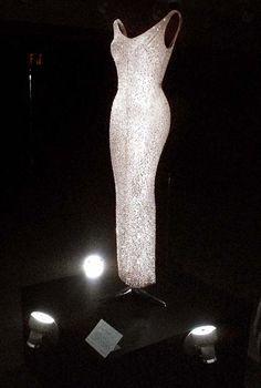 "<div class='meta'><div class='origin-logo' data-origin='AP'></div><span class='caption-text' data-credit='AP Photo/Bebeto Matthews'>Marilyn Monroe's ""Happy Birthday, Mr. President"" dress on display at Christie's in New York</span></div>"