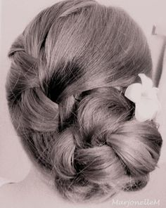 Braided Flower Bun